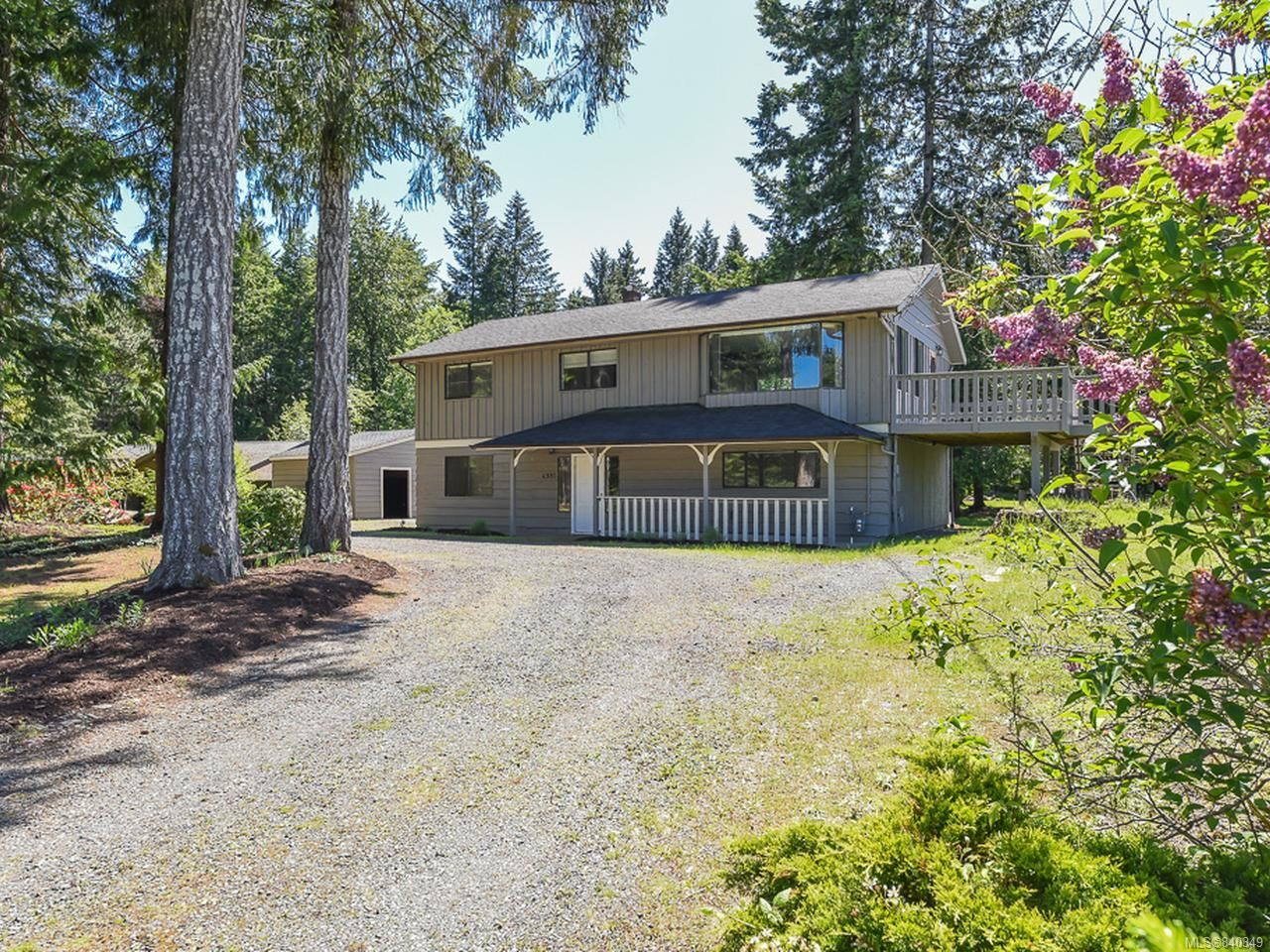 Main Photo: 4981 Childs Rd in COURTENAY: CV Courtenay North House for sale (Comox Valley)  : MLS®# 840349