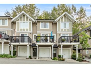 """Photo 1: 75 20176 68 Avenue in Langley: Willoughby Heights Townhouse for sale in """"STEEPLECHASE"""" : MLS®# R2620814"""