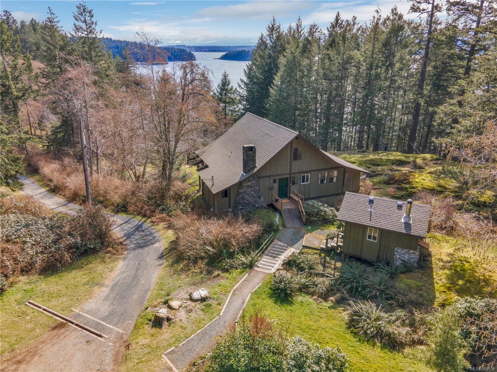 Main Photo: 1019 GOWLLAND HARBOUR Rd in : Isl Quadra Island House for sale (Islands)  : MLS®# 869931