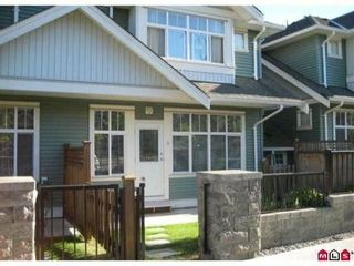 """Photo 10: 6 6785 193RD Street in Surrey: Clayton Townhouse for sale in """"Madrona"""" (Cloverdale)  : MLS®# F1204482"""