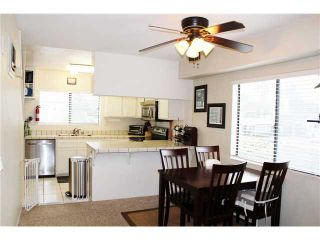 Photo 6: PACIFIC BEACH Townhouse for sale : 3 bedrooms : 4257 Gresham Street in San Diego