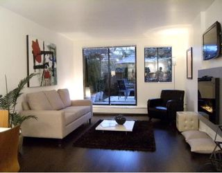 "Photo 2: #105 1867 W 3RD Avenue in Vancouver: Kitsilano Condo for sale in ""ST CLAIRE COURT"" (Vancouver West)  : MLS®# V806057"