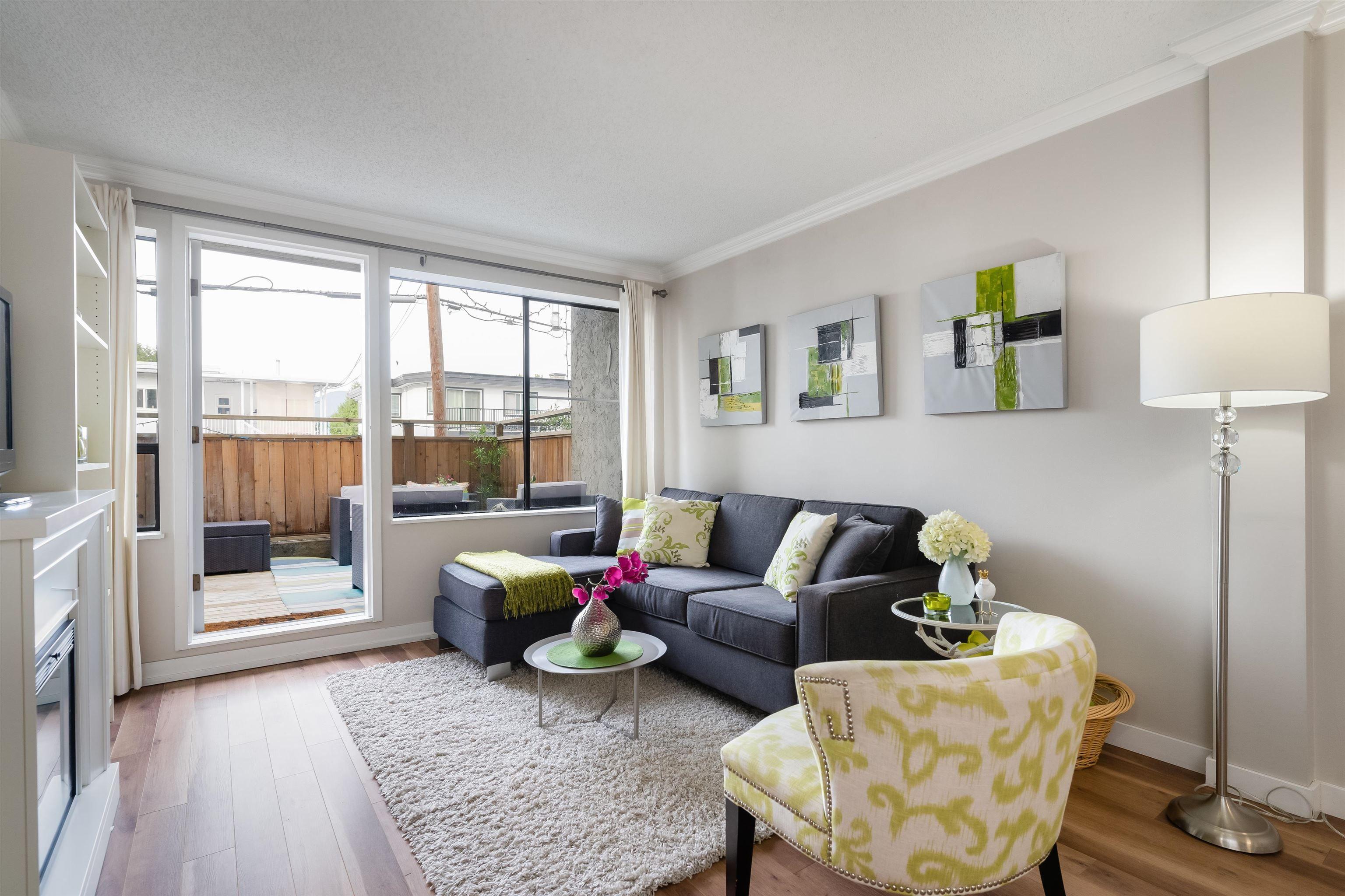 """Main Photo: 112 853 E 7TH Avenue in Vancouver: Mount Pleasant VE Condo for sale in """"VISTA VILLA"""" (Vancouver East)  : MLS®# R2619238"""