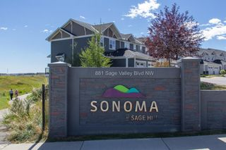 Photo 27: 2202 881 SAGE VALLEY Boulevard NW in Calgary: Sage Hill Row/Townhouse for sale : MLS®# A1029122