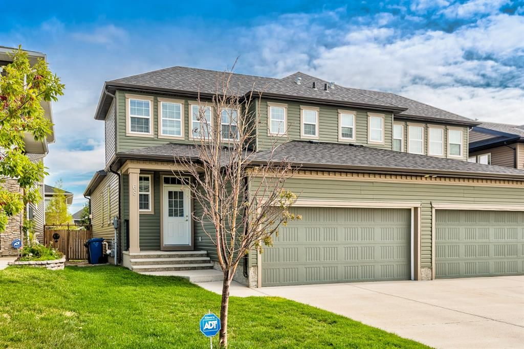Main Photo: 68 Evanswood Circle NW in Calgary: Evanston Semi Detached for sale : MLS®# A1138825