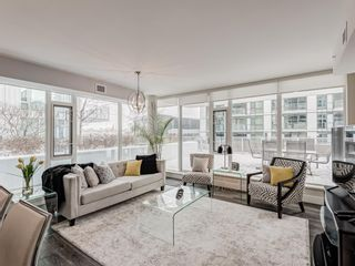 Photo 5: 201 560 6 Avenue SE in Calgary: Downtown East Village Apartment for sale : MLS®# A1084324