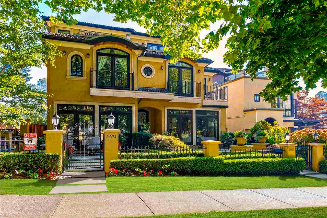 """Main Photo: 2074 MCNICOLL Avenue in Vancouver: Kitsilano 1/2 Duplex for sale in """"KITS POINT"""" (Vancouver West)  : MLS®# R2575728"""