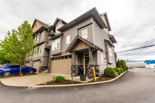 "Main Photo: 1 46083 AIRPORT Road in Chilliwack: Chilliwack E Young-Yale Townhouse for sale in ""GRAYSTONE ARBOR"" : MLS®# R2576373"