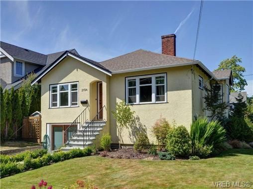 Main Photo: 2194 Bartlett Ave in VICTORIA: OB South Oak Bay House for sale (Oak Bay)  : MLS®# 704186