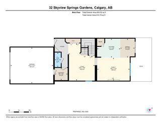 Photo 47: 32 SKYVIEW SPRINGS Gardens NE in Calgary: Skyview Ranch Detached for sale : MLS®# A1118652
