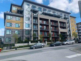"""Photo 1: 411 621 REGAN Avenue in Coquitlam: Coquitlam West Condo for sale in """"Simon 2"""" : MLS®# R2575461"""