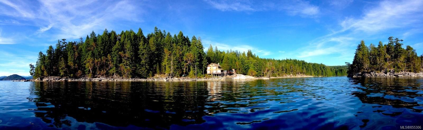Main Photo: Lot C Coulter Island in : Isl Small Islands (Campbell River Area) House for sale (Islands)  : MLS®# 855306