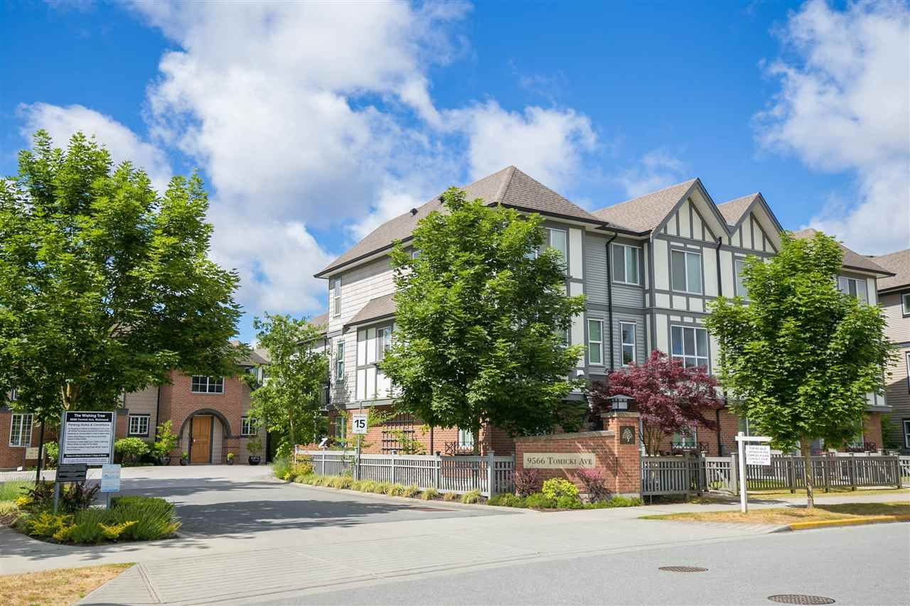 """Main Photo: 38 9566 TOMICKI Avenue in Richmond: West Cambie Townhouse for sale in """"WISHING TREE"""" : MLS®# R2278312"""