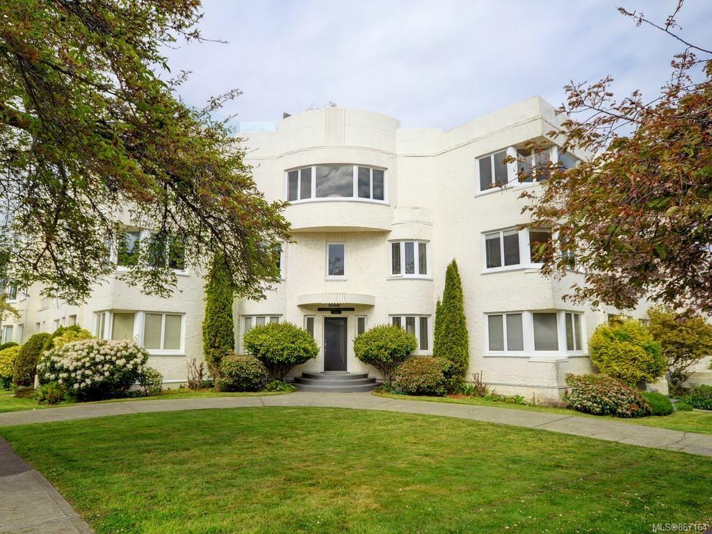 Main Photo: 10 900 Park Blvd in Victoria: Vi Fairfield West Condo for sale : MLS®# 867164