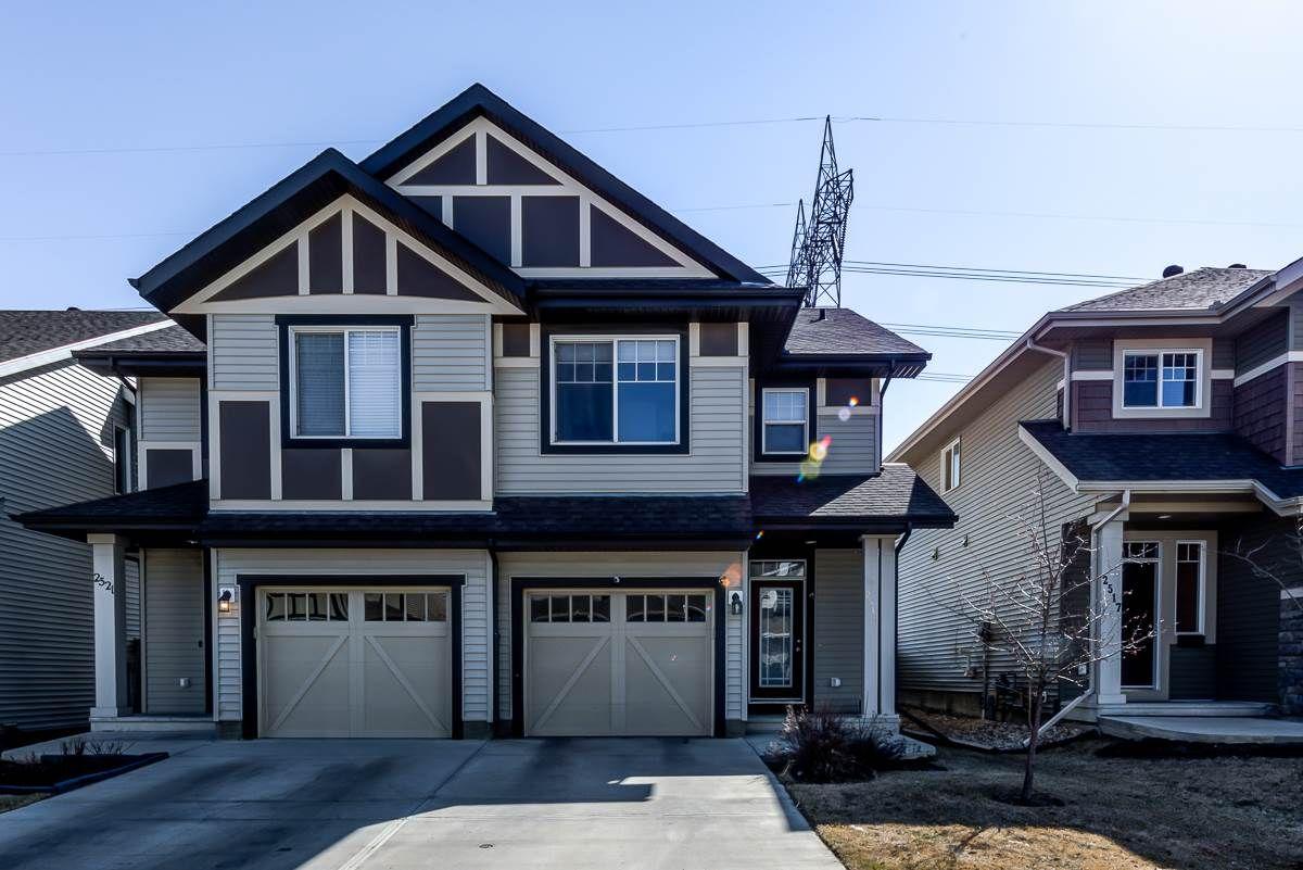 Main Photo: 2519 COUGHLAN Road in Edmonton: Zone 55 House Half Duplex for sale : MLS®# E4241291