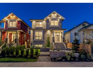 Photo 1: 4988 ELGIN Street in Vancouver: Knight House for sale (Vancouver East)  : MLS®# V1078955