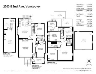 Photo 20: 2203 E 2ND AVENUE in Vancouver: Grandview VE House for sale (Vancouver East)  : MLS®# R2240985