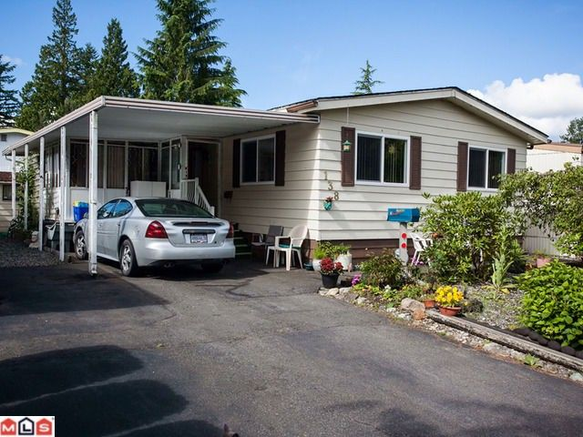 """Main Photo: 138 3665 244TH Street in Langley: Otter District Manufactured Home for sale in """"LANGLEY GROVE ESTATES"""" : MLS®# F1217824"""