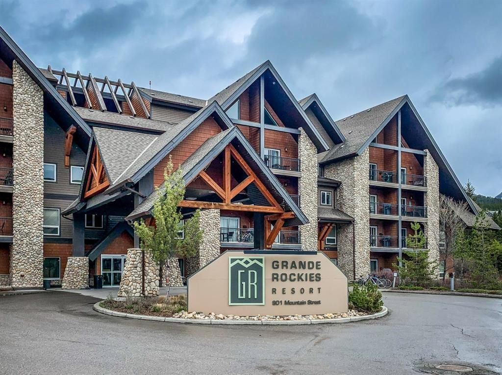 Main Photo: 323 901 Mountain Street: Canmore Apartment for sale : MLS®# A1088707
