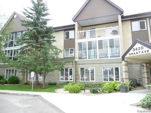 Main Photo: 307 3420 Grant Avenue in Winnipeg: Condominium for sale (1G)  : MLS®# 1807671
