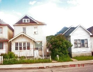 Photo 1: 429 MCGREGOR: Residential for sale (Canada)  : MLS®# 2810552