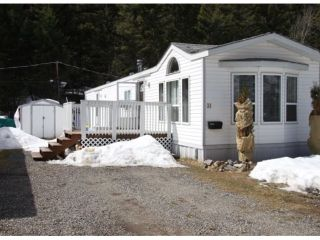 Photo 1: 31 803 HODGSON Road in Williams Lake: Esler/Dog Creek Manufactured Home for sale (Williams Lake (Zone 27))  : MLS®# N234921