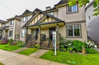 Photo 1: 16620 60TH Avenue in Surrey: Cloverdale BC 1/2 Duplex for sale (Cloverdale)  : MLS®# R2063363