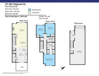 """Photo 33: 19 301 KLAHANIE Drive in Port Moody: Port Moody Centre Townhouse for sale in """"THE CURRENTS"""" : MLS®# R2601423"""