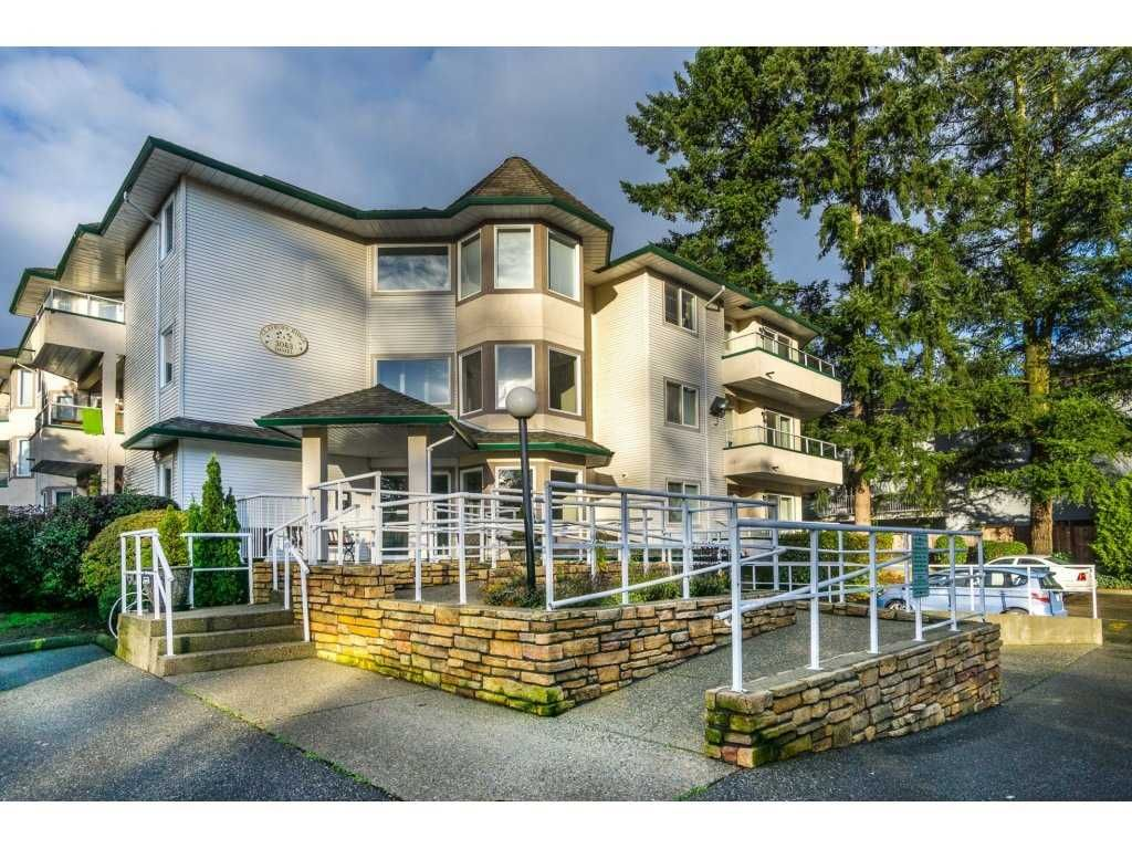 "Main Photo: 105 3063 IMMEL Street in Abbotsford: Central Abbotsford Condo for sale in ""Clayburn Ridge"" : MLS®# R2125465"