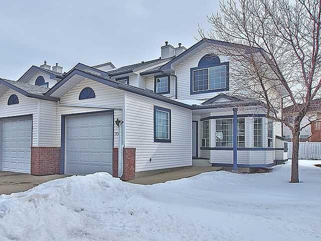 Main Photo: 1001 CITADEL Terrace NW in CALGARY: Citadel Townhouse for sale (Calgary)  : MLS®# C3558035
