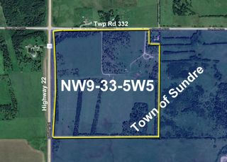 Main Photo: 0 NW9-33-5W5: Sundre Commercial Land for sale : MLS®# A1082207