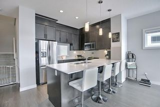 Photo 14: 191 Silverado Plains Park SW in Calgary: Silverado Row/Townhouse for sale : MLS®# A1086865