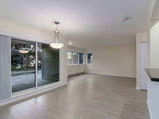 """Photo 5: 101 3950 LINWOOD Street in Burnaby: Burnaby Hospital Condo for sale in """"CASCADE VILLAGE"""" (Burnaby South)  : MLS®# R2109550"""