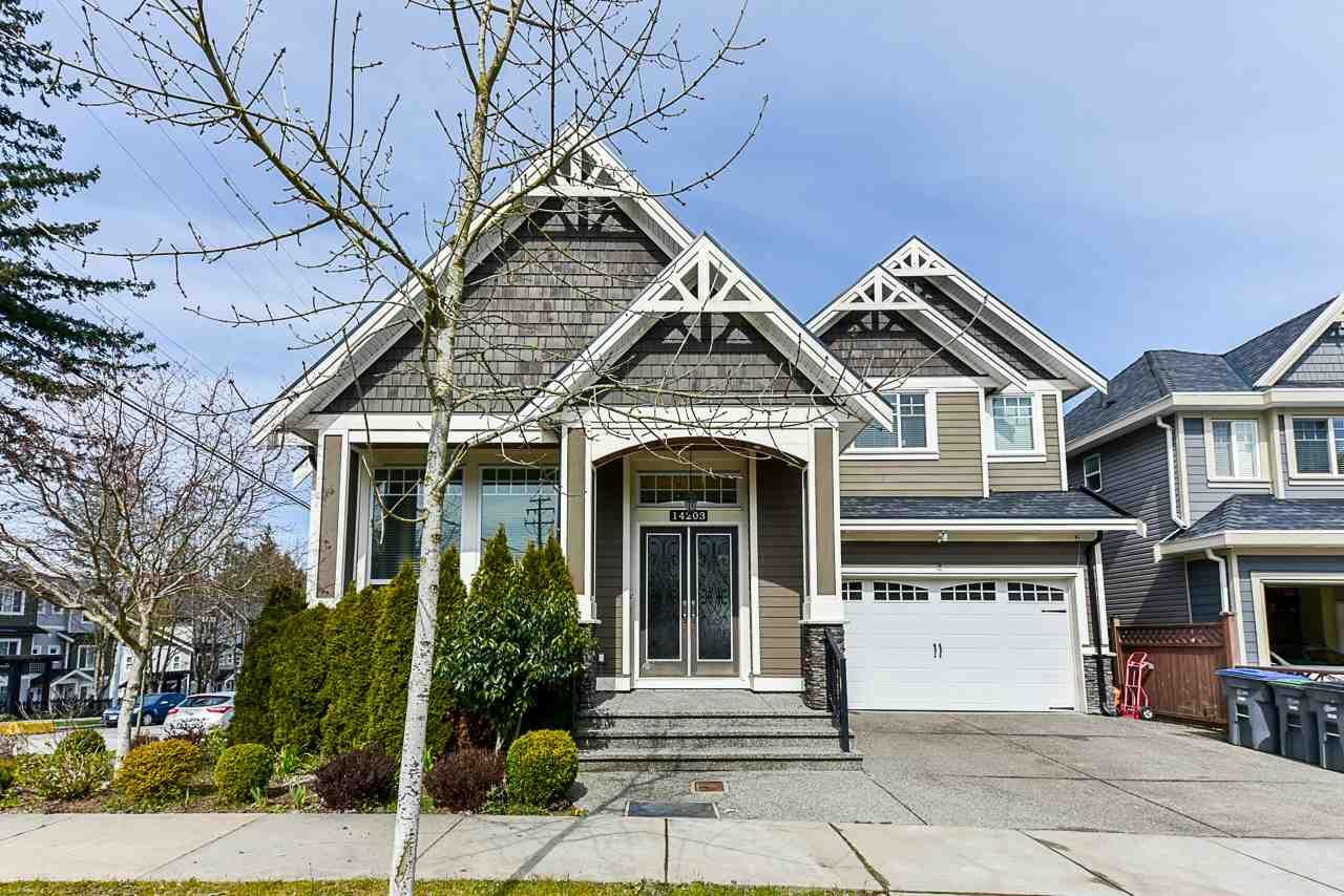 "Main Photo: 14203 61A Avenue in Surrey: Sullivan Station House for sale in ""Sullivan"" : MLS®# R2562549"