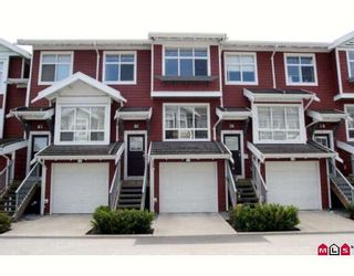 """Photo 1: 38 15168 36TH Avenue in Surrey: Morgan Creek Townhouse for sale in """"Solay"""" (South Surrey White Rock)  : MLS®# F2816166"""