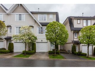 """Photo 1: 48 20540 66 Avenue in Langley: Willoughby Heights Townhouse for sale in """"AMBERLEIGH II"""" : MLS®# R2160963"""