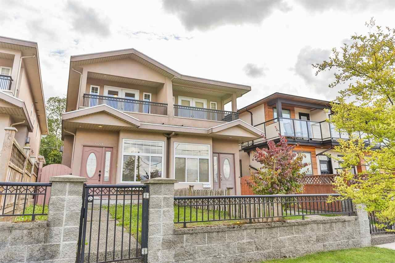 Main Photo: 5058 DOMINION STREET in Burnaby: Central BN 1/2 Duplex for sale (Burnaby North)  : MLS®# R2001241