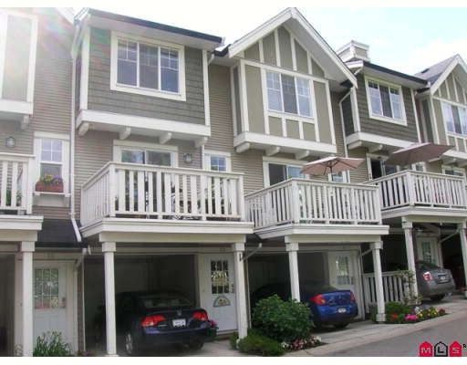 "Main Photo: 32 20176 68TH Avenue in Langley: Willoughby Heights Townhouse for sale in ""STEEPLECHASE"" : MLS®# F2914147"