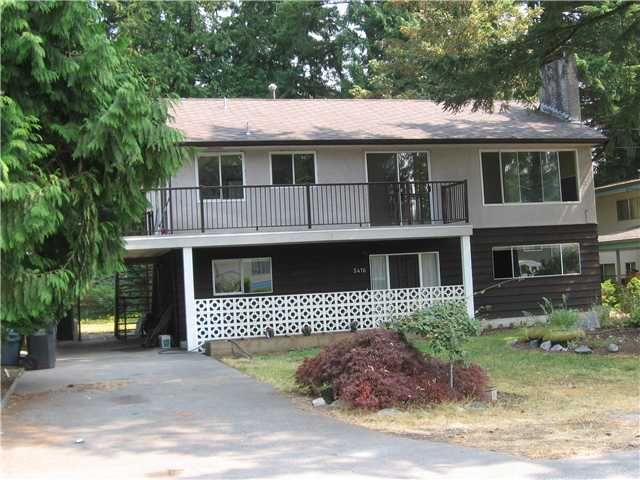 Main Photo: 3476 RALEIGH Street in Port Coquitlam: Woodland Acres PQ House for sale : MLS®# V845336
