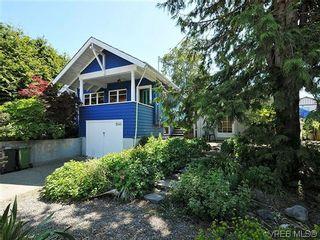 Photo 1: 1245 Queens Ave in VICTORIA: Vi Fernwood House for sale (Victoria)  : MLS®# 640680