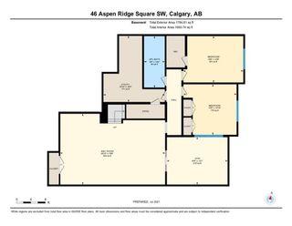 Photo 50: 46 Aspen Ridge Square SW in Calgary: Aspen Woods Semi Detached for sale : MLS®# A1134863
