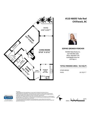 """Photo 22: 110 46693 YALE Road in Chilliwack: Chilliwack E Young-Yale Condo for sale in """"THE ADRIANNA"""" : MLS®# R2553738"""