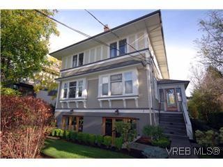Main Photo: 1 727 Linden Avenue in Victoria: Vi Fairfield West Condo for sale : MLS®# 285761