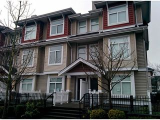 """Photo 1: 5 8655 159TH Street in Surrey: Fleetwood Tynehead Townhouse for sale in """"SPRINGFIELD COURT"""" : MLS®# F1406166"""