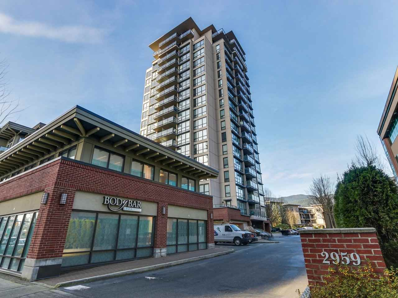 """Main Photo: 1006 2959 GLEN Drive in Coquitlam: North Coquitlam Condo for sale in """"THE PARC"""" : MLS®# R2228187"""