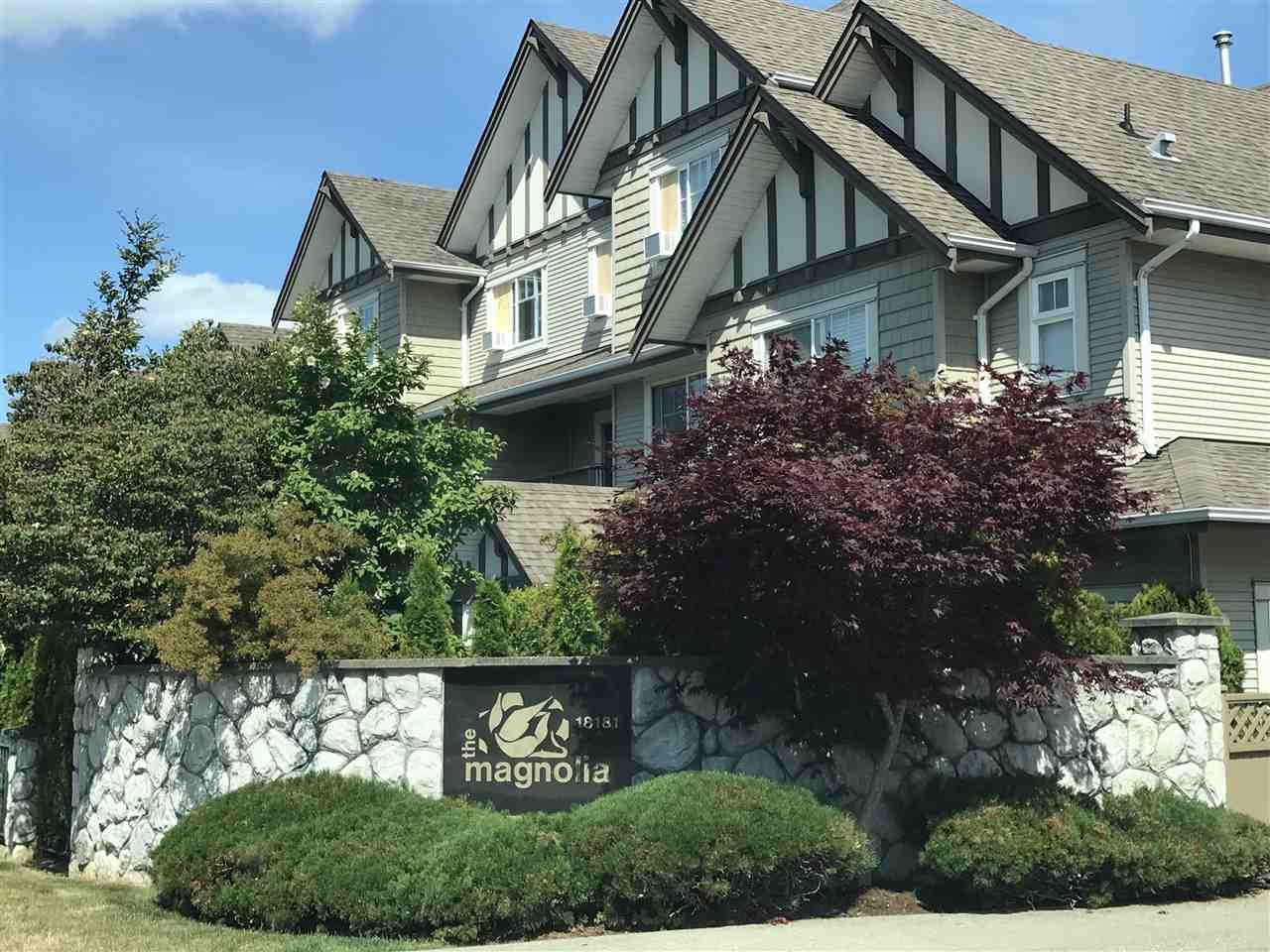 """Main Photo: 14 18181 68 Avenue in Surrey: Cloverdale BC Townhouse for sale in """"Magnolia"""" (Cloverdale)  : MLS®# R2381409"""