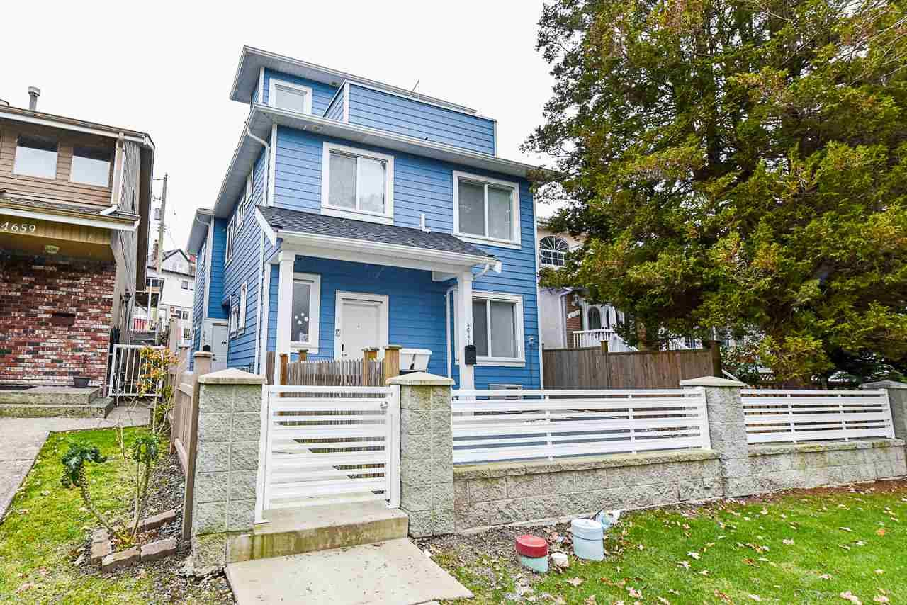 Main Photo: 4643 CLARENDON Street in Vancouver: Collingwood VE 1/2 Duplex for sale (Vancouver East)  : MLS®# R2570443
