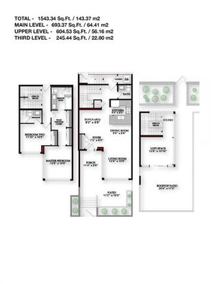 Photo 47: 113 Confluence Mews SE in Calgary: Downtown East Village Row/Townhouse for sale : MLS®# A1138938