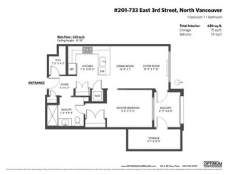"""Photo 16: 201 733 E 3RD Street in North Vancouver: Lower Lonsdale Condo for sale in """"Green on Queensbury"""" : MLS®# R2442684"""