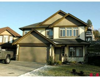 """Photo 1: 3782 MCKINLEY Drive in Abbotsford: Abbotsford East House for sale in """"SANDY HILL"""" : MLS®# F2833570"""